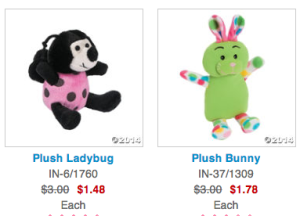 Adorable Plush Easter Toys Starting at $1.48 Shipped!