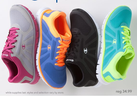 afbcd881f608 Wake up your workout with Champion athletics in all your favorite colors!