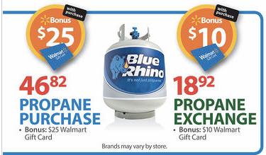 walmart blue rhino deal