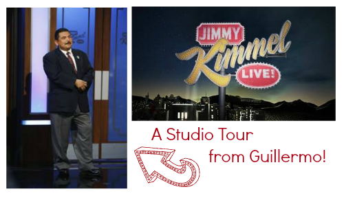Jimmy Kimmel Live Guillermo Studio Tour