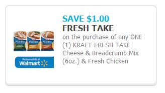 Kraft Fresh Take coupon
