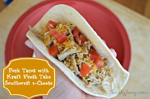 Kraft #FreshTake Pork Tacos #shop