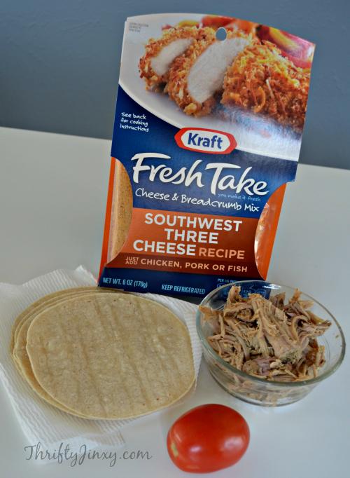 Kraft #FreshTake Southwest Three Cheese