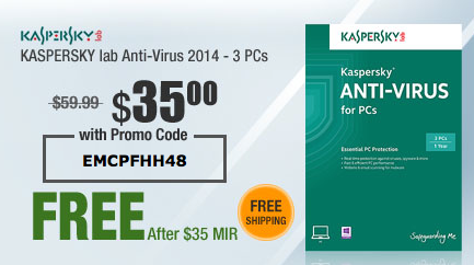 Kaspersky Lab offers a number of computer security products on a subscription basis as well as number of free trials that allow you to try their services before you buy. Additional discounts and coupon codes for Kaspersky Lab may be found at cemedomino.ml