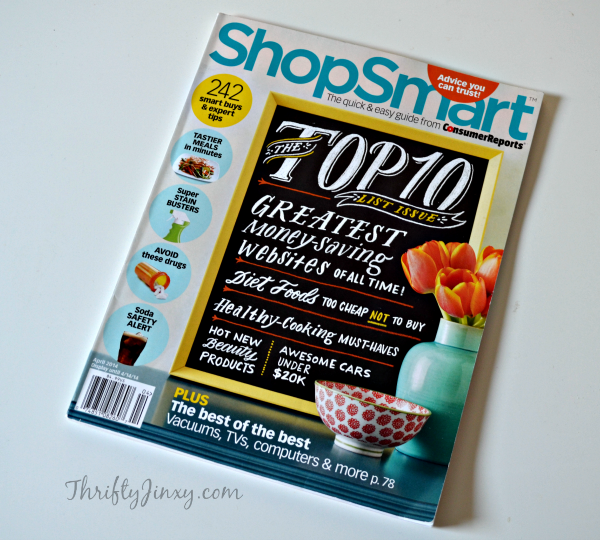 ShopSmart Magazine Review, Subscription Offer and Reader Giveaway