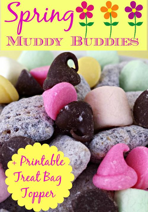 Spring Muddy Buddies Recipe