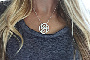 Beautiful Monogram Initial Necklaces as Low as $13.99 Shipped!