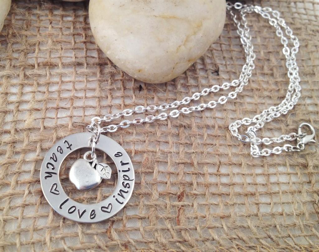 jane teacher necklace