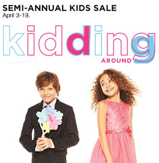 Semi-Annual Children's Sale at Kohl's + $10 Off a $30 Purchase!
