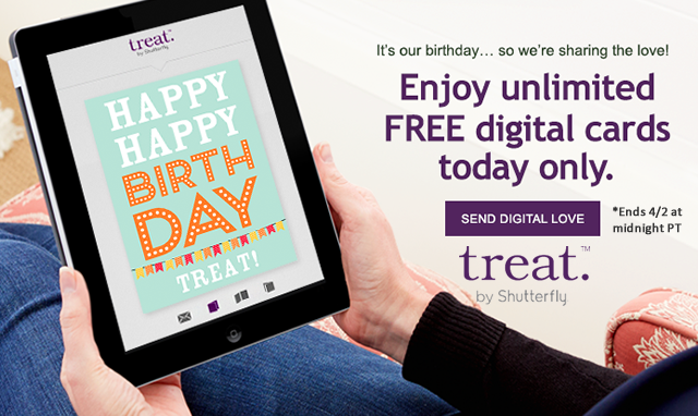 Send Unlimited FREE Digital Greeting Cards Today Only