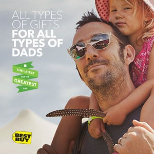 Celebrate Dad with Gifts from Best Buy this Father's Day
