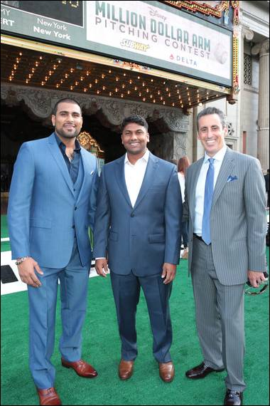 Million Dollar Arm: An Interview with the Real-Life JB Bernstein, Rinku Singh and Dinesh Patel