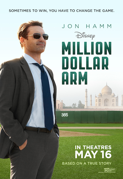 Million Dollar Arm Review – It's Not Just About Baseball