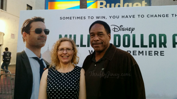 Million Dollar Arm Premiere Dave Winfield