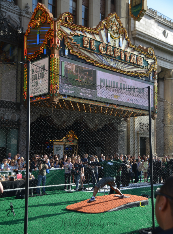 Million Dollar Arm Premiere Pitching Contest 2
