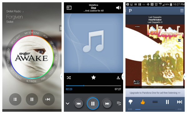 Samsung Note 3 Music Apps