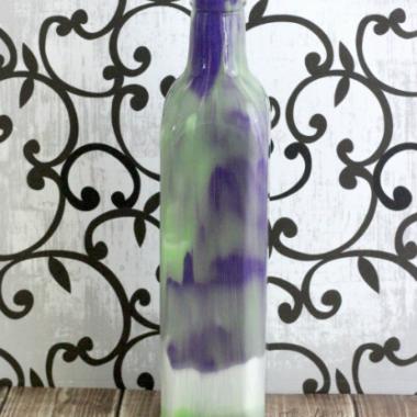 DIY Swirl Vase