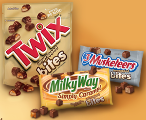 New High Value MARS TWIX® Bites Printable Coupon