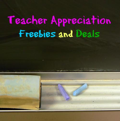 Teacher Appreciation Freebies