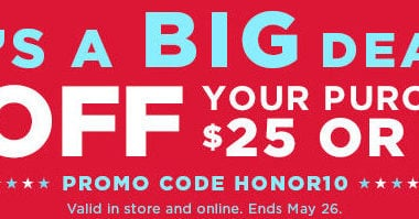 fbe6fdedf5e  10 Off  25 Purchase at Kohl s – Stack with 20% Off Code!!