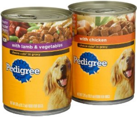Pedigree Canned Dog Food Coupons