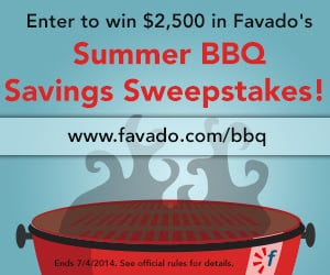 Enter for a Chance to Win $2,500 and Other Great BBQ Essentials!