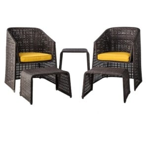 Patio Furniture and Sets on Clearance from Target! 5-Piece Sets Starting at $180! (reg $400)