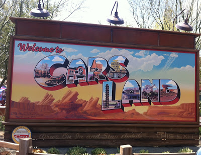 Cars Land-Disney #BraveCarsLandEvent