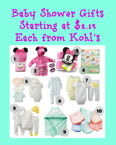 Great Baby Shower Gift Items Starting At Each From Kohl 39 S Thrifty Jinxy