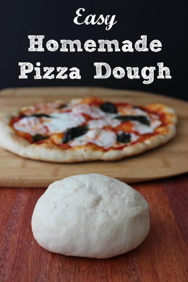 Easy Homemade Pizza Dough Recipe Thrifty Jinxy
