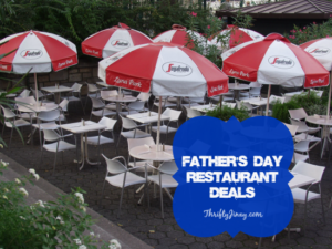 Father's Day Restaurant Deals