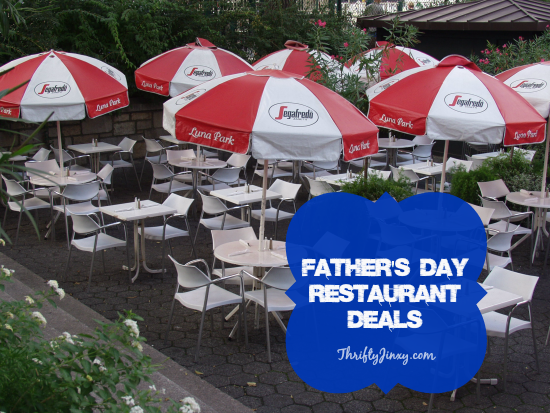 Fathers Day Restaurant Deals
