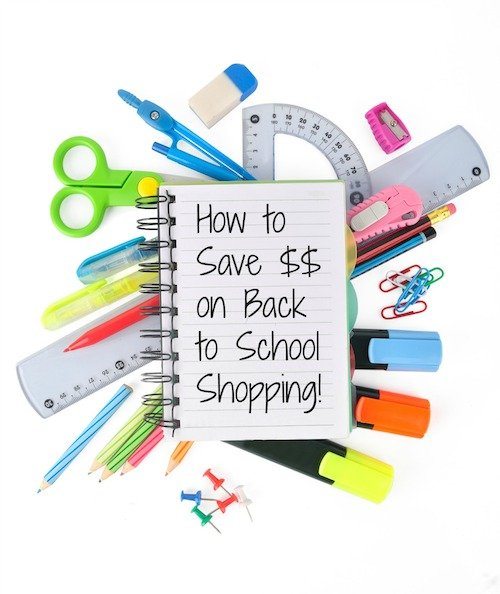 How to Save $$ on Back to School Shopping