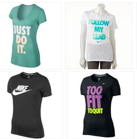0cca8658a Nike Workout T-Shirts on Clearance Starting at $8.50 Each! (reg $30 ...