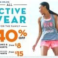 ON avtive wear sale