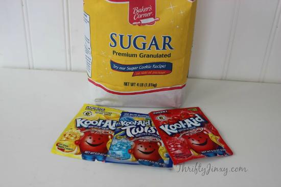 Patriotic Snow Cones Kool-Aid Sugar