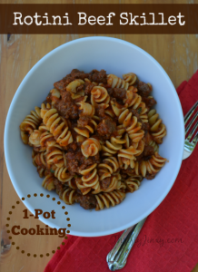 Rotini Beef Skillet Recipe – One Pot Cooking!