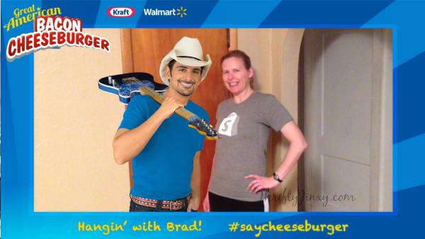 #SayCheeseburger with Brad Paisley