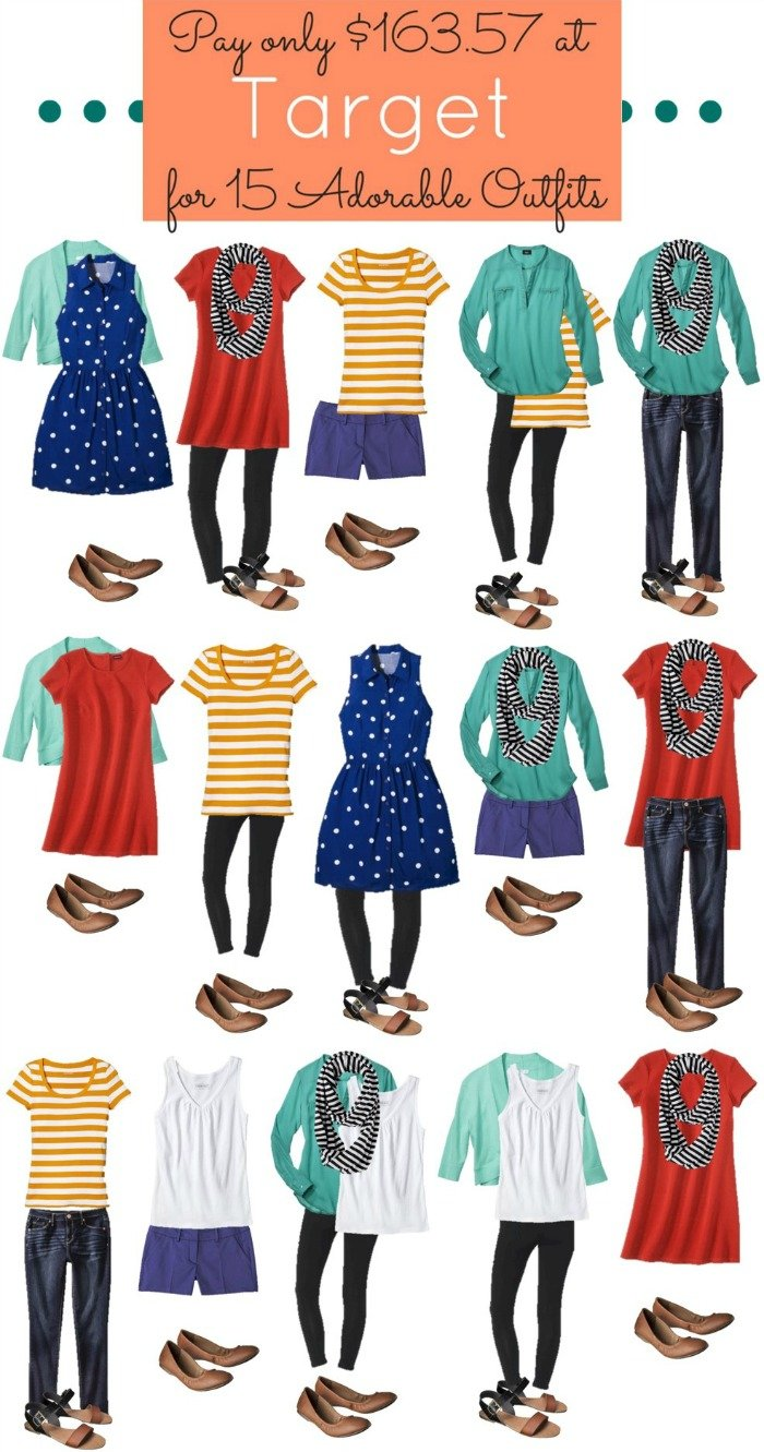Get 15 Adorable Women's Target Outfits for only $163!
