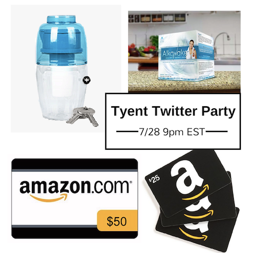 Tyent Twitter Party and Sweepstakes – Enter to Win!