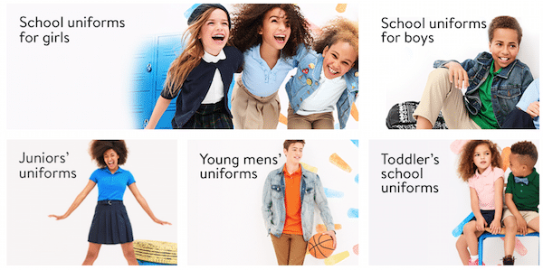 School Uniforms And Backpacks Starting At 5 From Walmart Thrifty