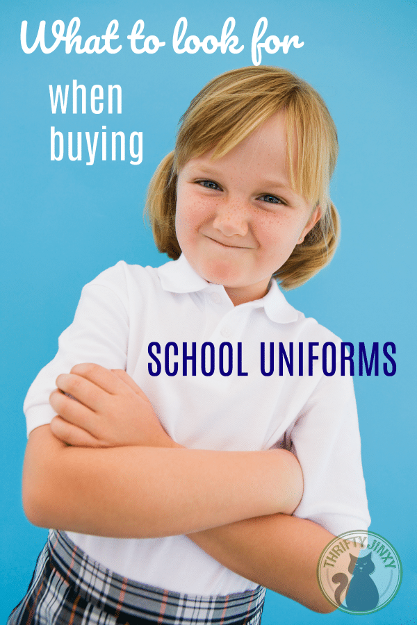 What to look for when buying school uniforms