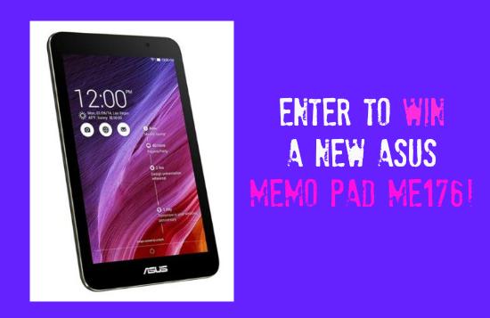 Win an Asus Memo Pad ME176