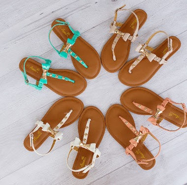 5c3f1f35a Beautiful Women s Sandals only  9.99 and Scarf only  2.99 Shipped!