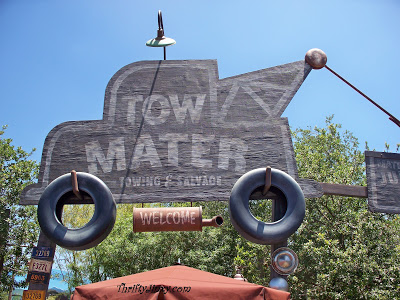 Visit Mater's Junkyard Jamboree – Cars Land at Disney California Adventure Park #BraveCarsLandEvent