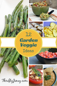 12 Recipe Ideas for Excess Garden Veggies