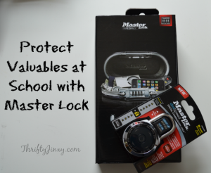 Protect Valuables at School with Master Lock – Sweepstakes and Twitter Party