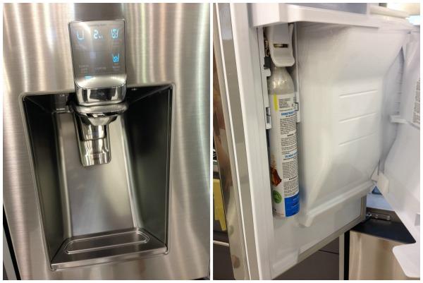 Samsung Chef Collection Refrigerator Sparkling Water
