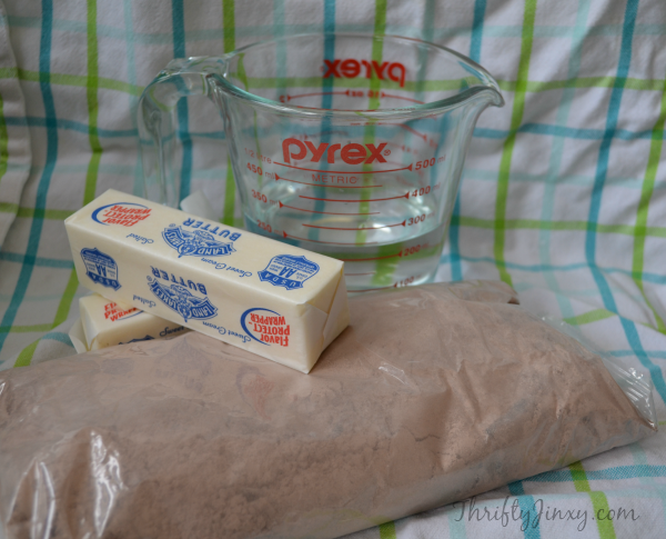 Tastefully Simple Chocolate Pound Cake Ingredients