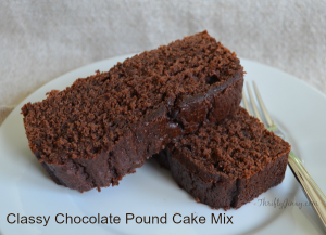 Tastefully Simple Classy Chocolate Pound Cake Cookies